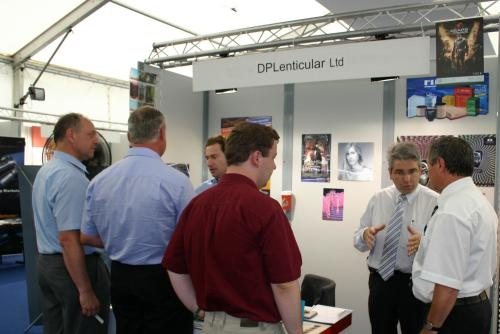 The DPLenticular formerly LPC Europe booth   © Copyright  IST