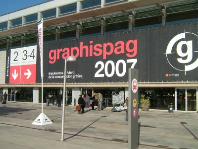Graphispag Expo Barcelona  Copyright DPL formerly LPC Europe Daniel Pierret