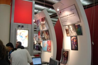 DPLenticular - Lenstar stand C02 in drupa innovation park - Copyright DPL formerly LPC Europe
