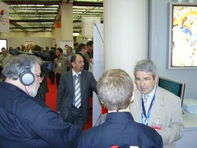 Daniel Pierret during an interview  Copyright DPL formerly LPC Europe
