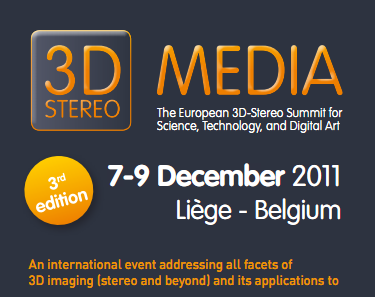 3D STEREO MEDIA 2011 with DP Lenticular