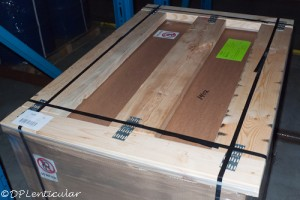 new pallets for Pacur lenticular sheets