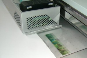 direct-to-lens flatbed lenticular printing