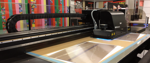 Printing lenticular images - agfa flatbed