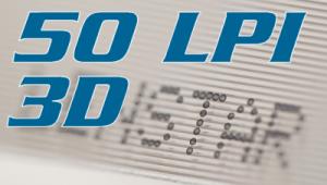 3D-50LPILenticular sheet