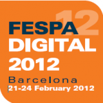 Fespa 2012 showing lenticular digital printing