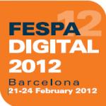 Fespa 2012 showing lenticular digital printing