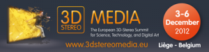 3D Stereo Media 2012 in LIege Belgium