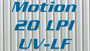 Motion 20 LPI UV-LF lenticular sheet