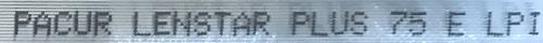 75 LPI Lenstar Lite elliptischen Lentikular Linse