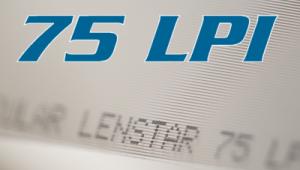 75 LPI lenticular sheet