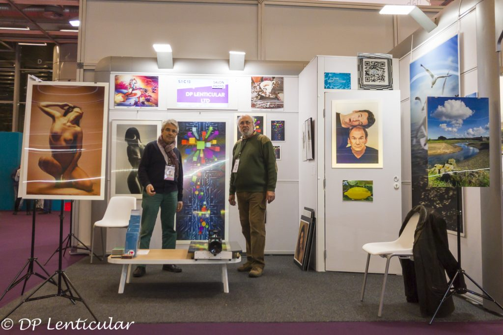 Paris Salon de la Photo avec Henri Clément ©2017 DP Lenticular, All Rights Reserved.